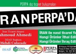 İran Ticari Ateşesi Perpa'ya Geliyor