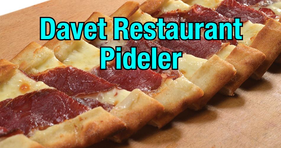 Davet Restaurant Pideler