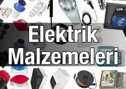 Elektrik Malzemeleri