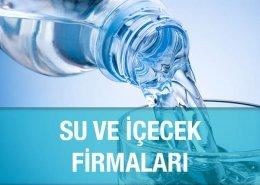 Su ve İçecek Firmaları Meşrubat Ayran Satıcıları