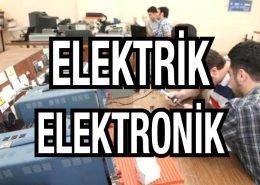 Elektrik elektronik elemanları