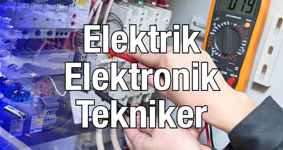 Elektrik Elektronik Teknikeri Metsis Elektrik