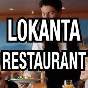 Lokanta restaurant elemanları
