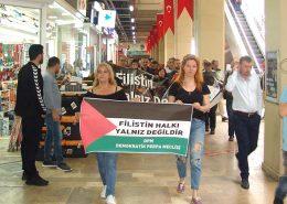 Perpa'da Filistin Yalnız Değildir Yürüyüşü