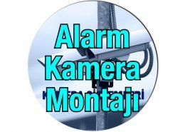 Alarm ve kamera montaj elemanı