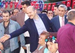 İçişleri Bakanı Süleyman Soylu Perpa'da