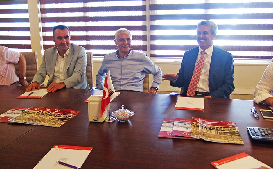 Yüksel Mansur Kılınç Perpa'yı Ziyaret Etti