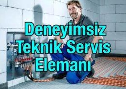 Deneyimsiz Teknik Servis Elemanları