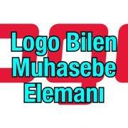 Logo bilen bay bayan muhasebe elemanı