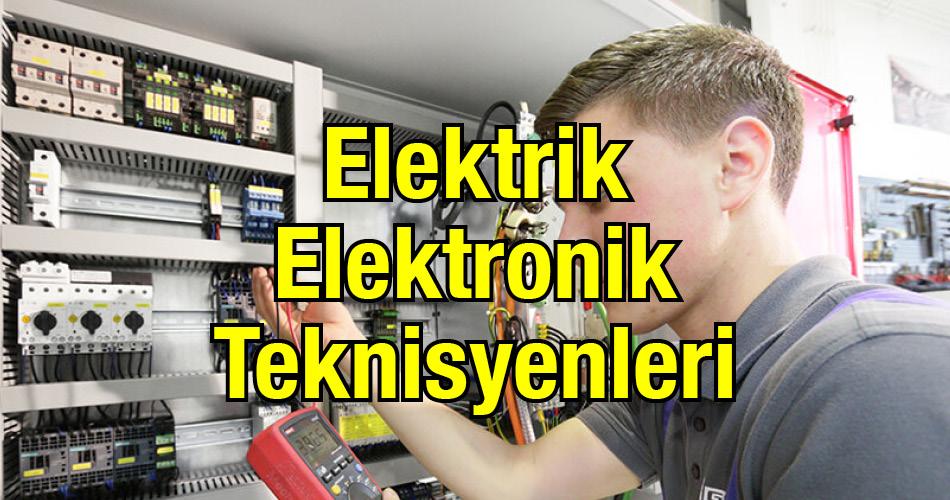 Elektrik Elektronik Teknisyenleri