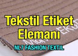 Tekstil Etiket Üretim Elemanı