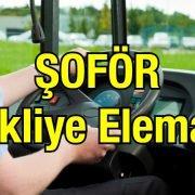 Şoför