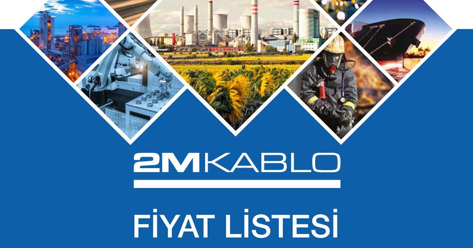 2M Kablo Fiyat Listesi