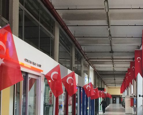 Perpa Cumhuriyet Bayramına Hazır