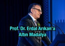 Prof. Dr. Erdal Arıkan Altın Madalya