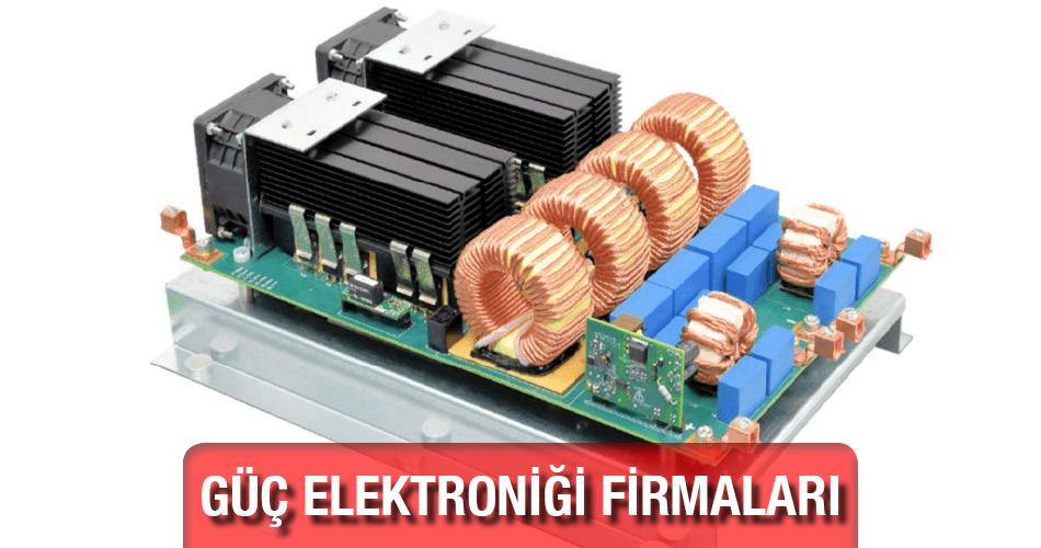 Güç Elektroniği Kullanım Alanları