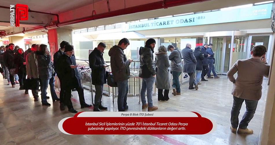 İTO Perpa İstanbul Ticaret Odası Perpa Şubesi