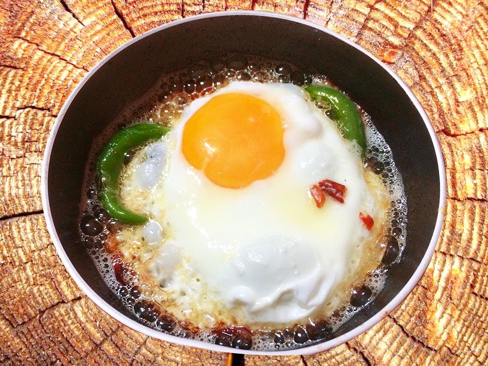 Köy Yumurtası pişirme