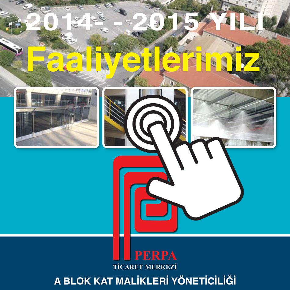 Perpa faaliyet Raporu 2014-2015
