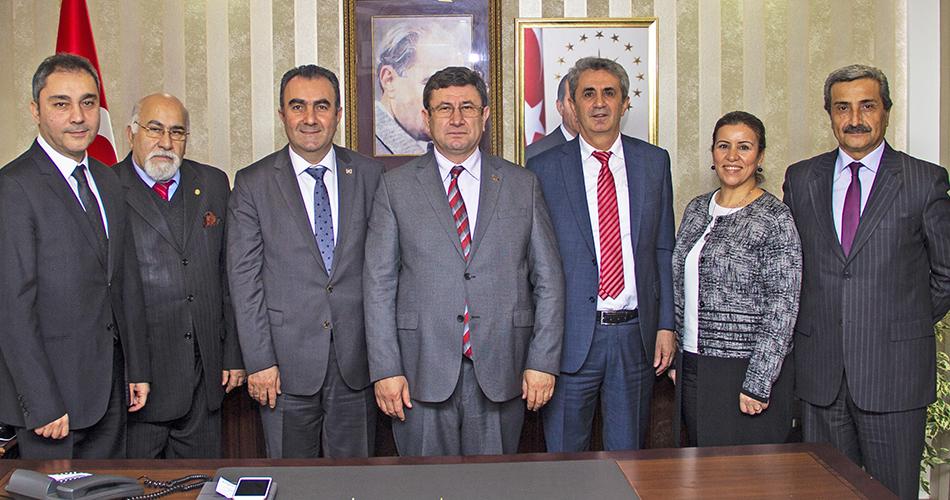 Şişli Kaymakamı Ali Fuat Türkel Ziyareti