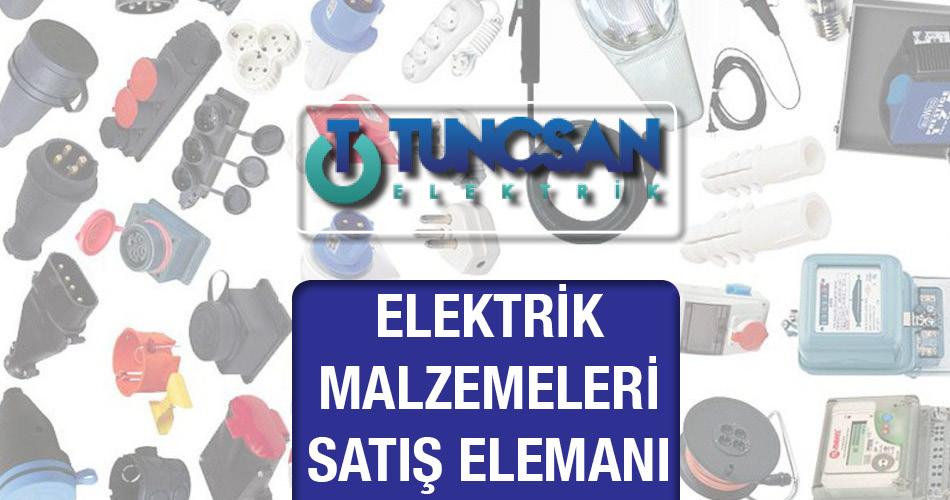 Elektrik Malzemeleri Satış Elemanı