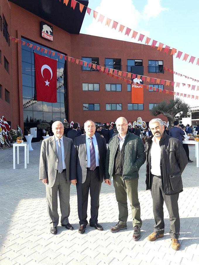 Fiberli Yeni Fabrikası Açıldı