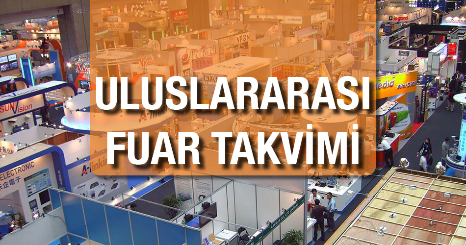 Uluslararası Fuar Takvimi Messe Turkey