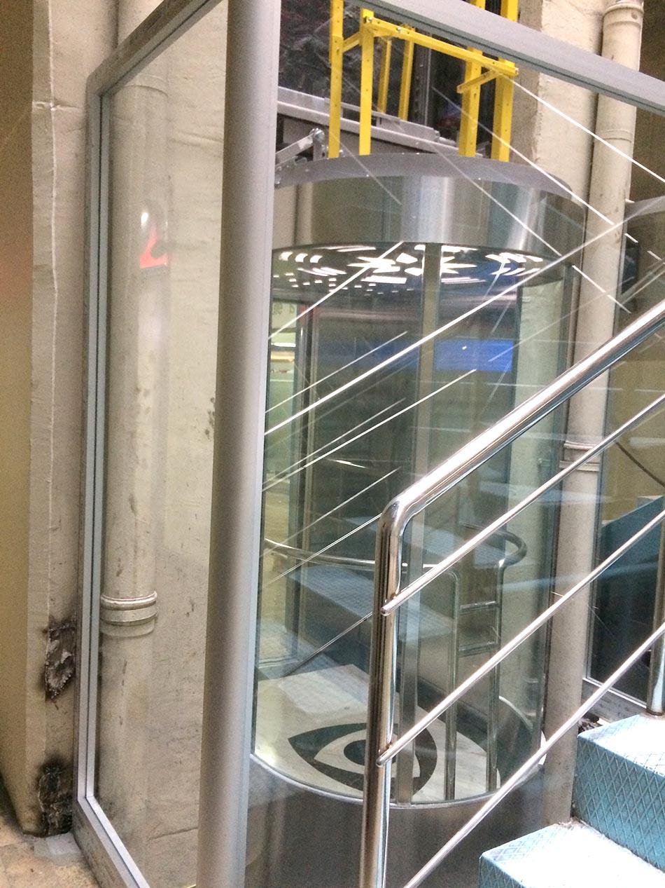 Sarı ve Mavi Avlu Asansörlerimiz Yenilendi