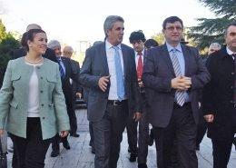 Ali Fuat Türkel Perpa Ziyareti