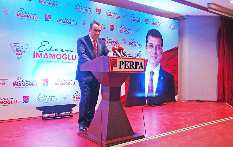 Hacı Demir - Ekrem İmamoğlu Perpa Ticaret Merkezi