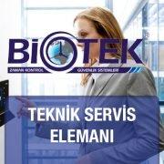 Teknik Servis Elemanı Biotek