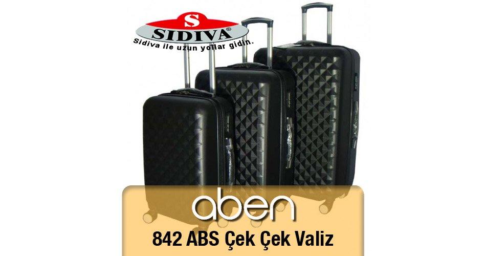 842 ABA Çek Çek Valiz Seti