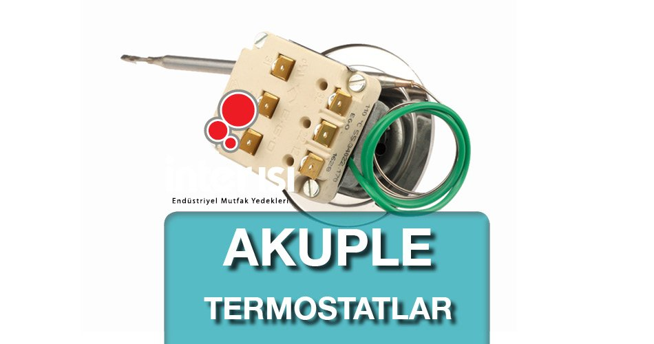 Akuple Termostatlar