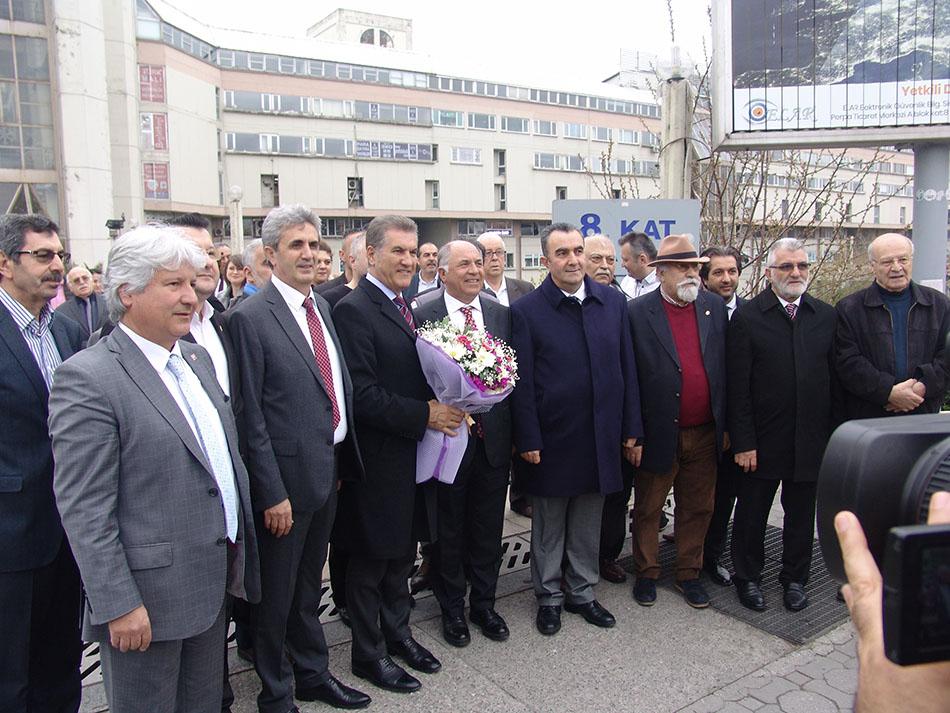 Sarıgül'ü Hasan Sezgin ve Hacı Demir Karşıladı