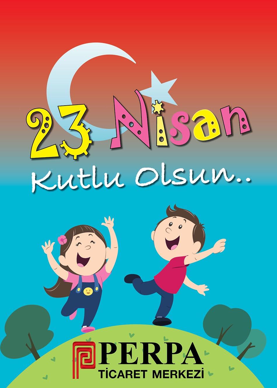 Ulusal Egemenlik ve Çocuk Bayramı Perpa Afişleri