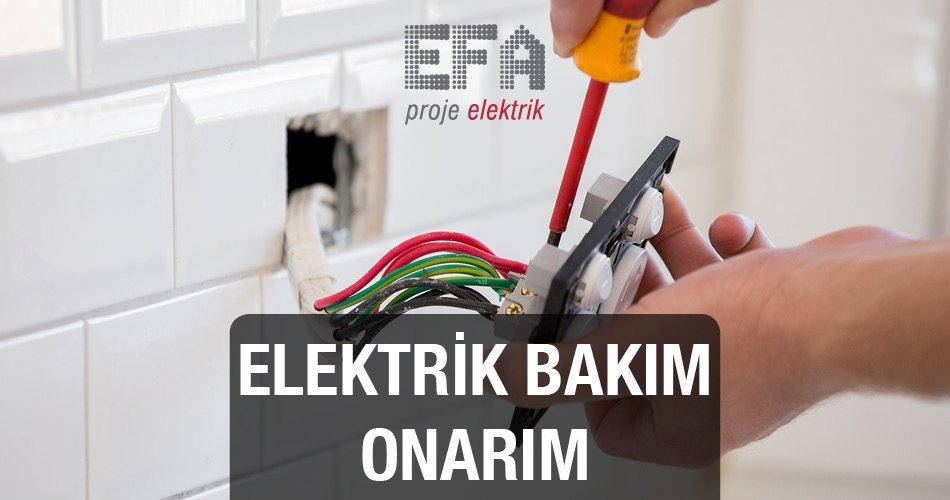 Elektrik Bakım Onarım