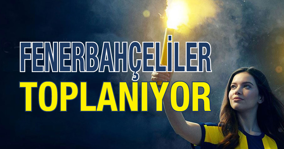Perpa Fenerbahçeliler Toplanıyor