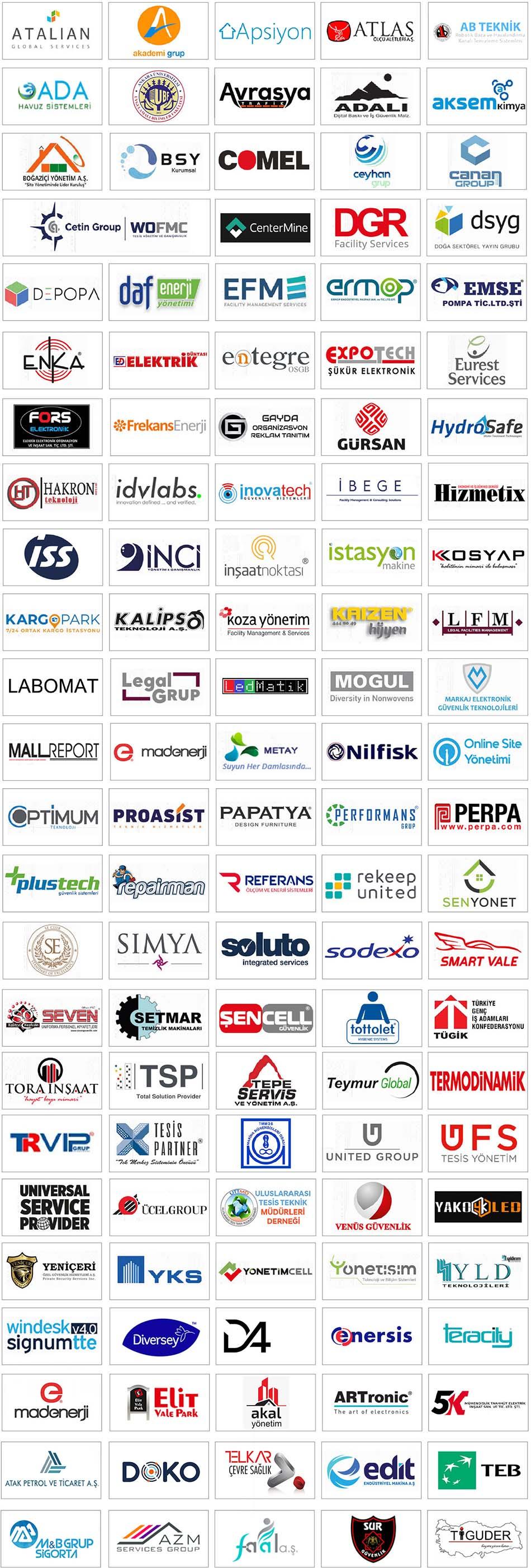 FM Expo İstanbul 2019 Katılımcıları