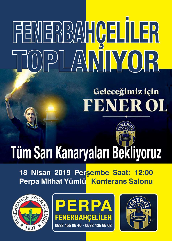 Perpa Fenerbahçeliler Fener Ol