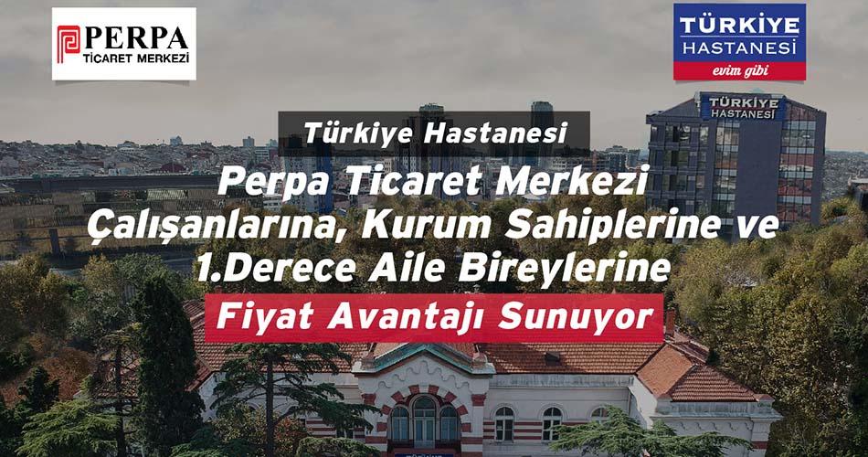 Türkiye Hastanesi'nden Perpa'ya İndirimler