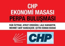 CHP Ekonomi Masası Perpa Buluşması