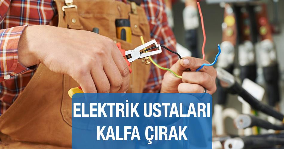 Elektrik Ustaları Kalfa Çırak