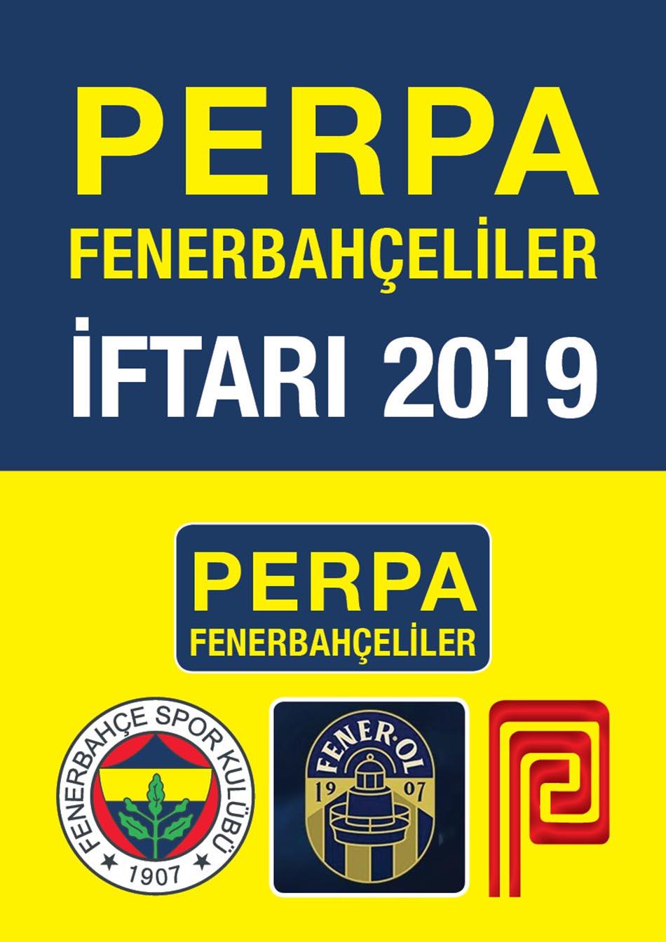 Perpa Fenerbahçeliler İftarı 2019