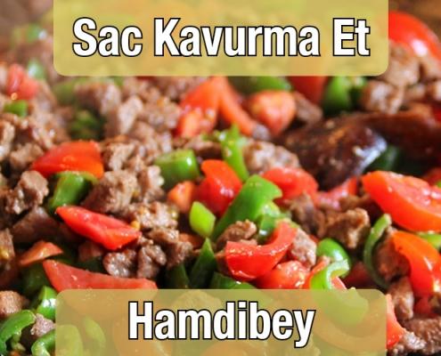 Sac Kavurma Et