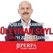 Süleyman Soylu Perpa'yı Ziyaret Edecek