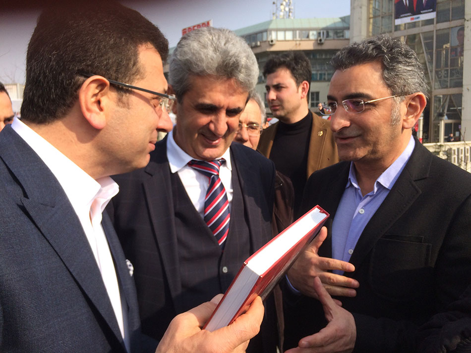 Ekrem İmamoğlu, Hasan Sezgin, Kemal Gaygusuz