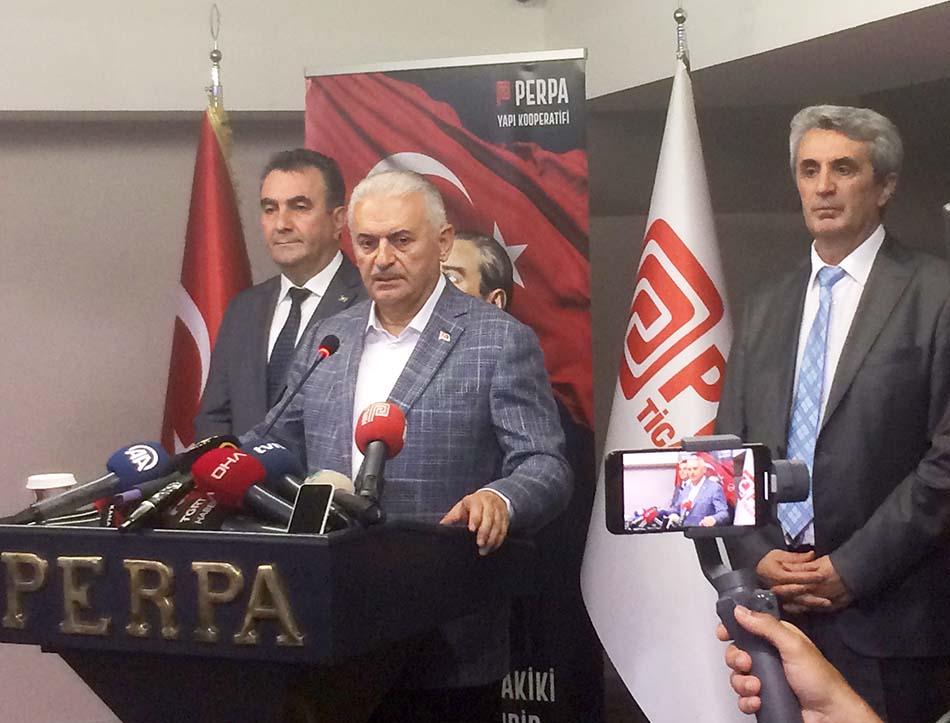 Binali Yıldırım Hasan Sezgin Hacı Demir