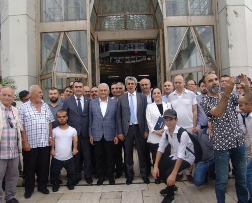 Hasan Sezgin, Binali Yıldırım, Erol Kartal, Hacı Demir, Osman Arman