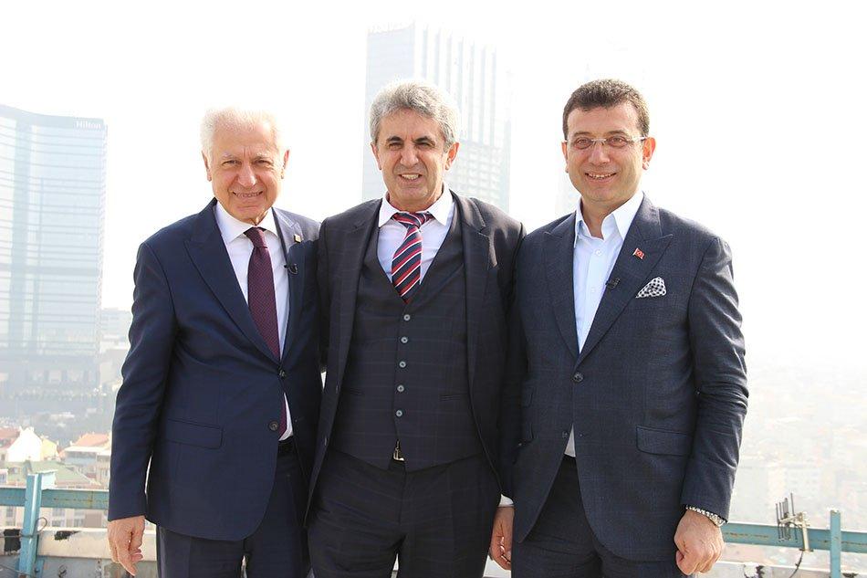 Ekrem İmamoğlu, Muammer Keskin, Hasan Sezgin