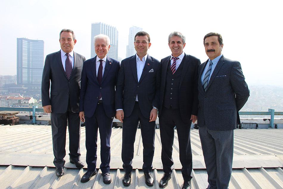 Ekrem İmamoğlu, Muammer Keskin, Hasan Sezgin, Nazım Erdemir